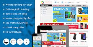 thiết kế web bán điện thoại nhanh nhất